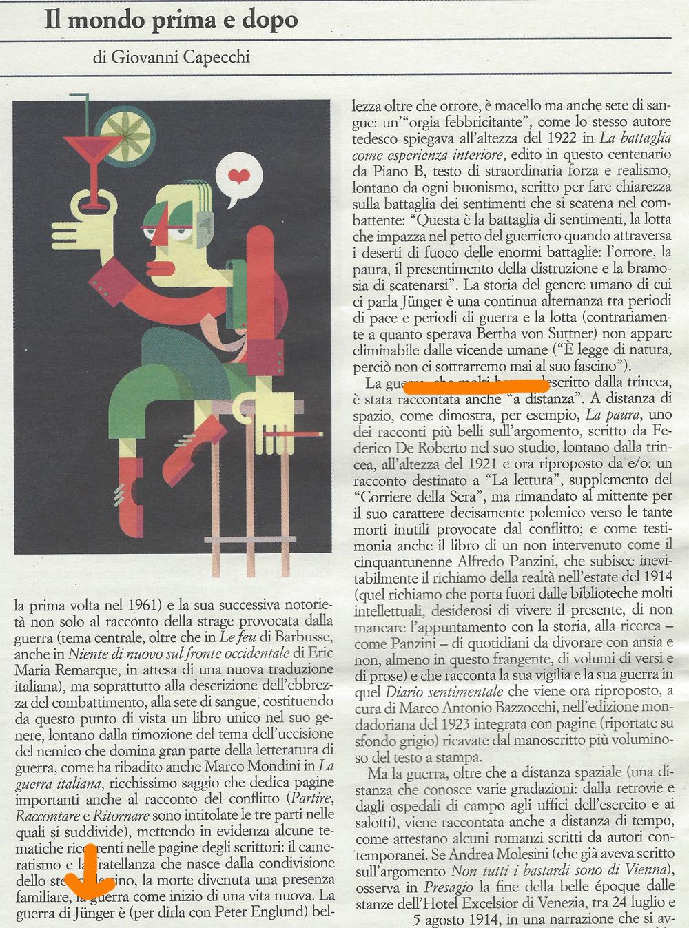 Giovanni Capecchi sull'Indice